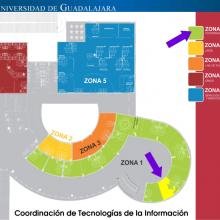 Ubicación de la Coordinación de Tecnologías de la Información